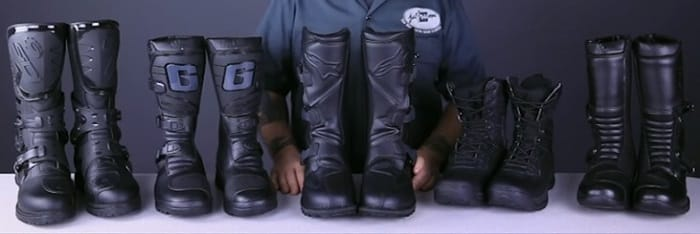 what to look for when buying motorcycle boots