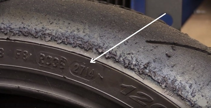 Motorcycle tire age
