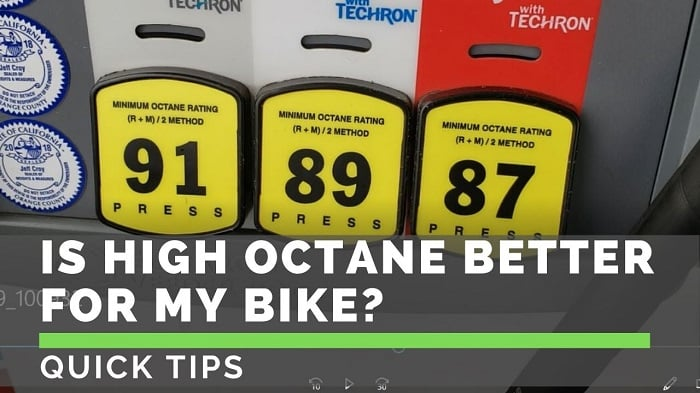 Should You Use Premium Gas in Your Motorcycle